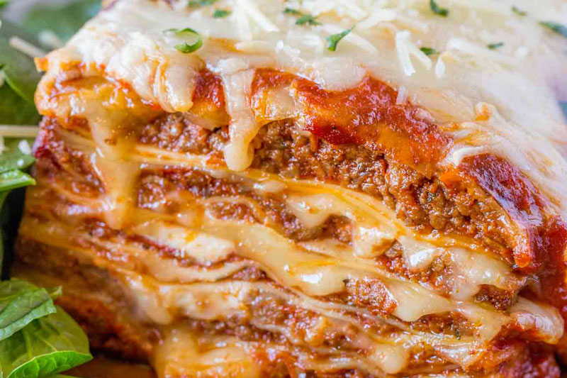 Cheesy-Meat-Lasagna